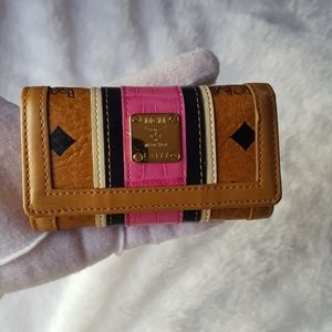 Authentic MCM Keychain wallet
